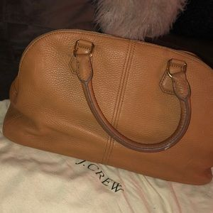 JCrew brown leather bag - NWT